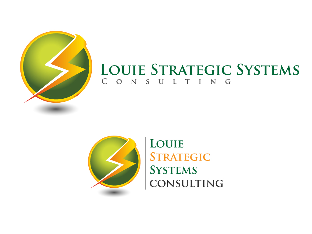 Logo Design by Jagdeep Singh - Entry No. 3 in the Logo Design Contest Artistic Logo Design for Louie Strategic Systems Consulting.