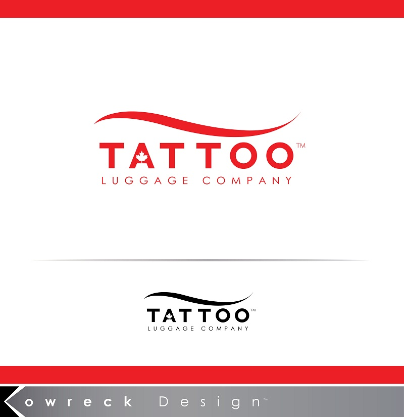 Logo Design by kowreck - Entry No. 84 in the Logo Design Contest Artistic Logo Design for Tattoo Luggage Company.