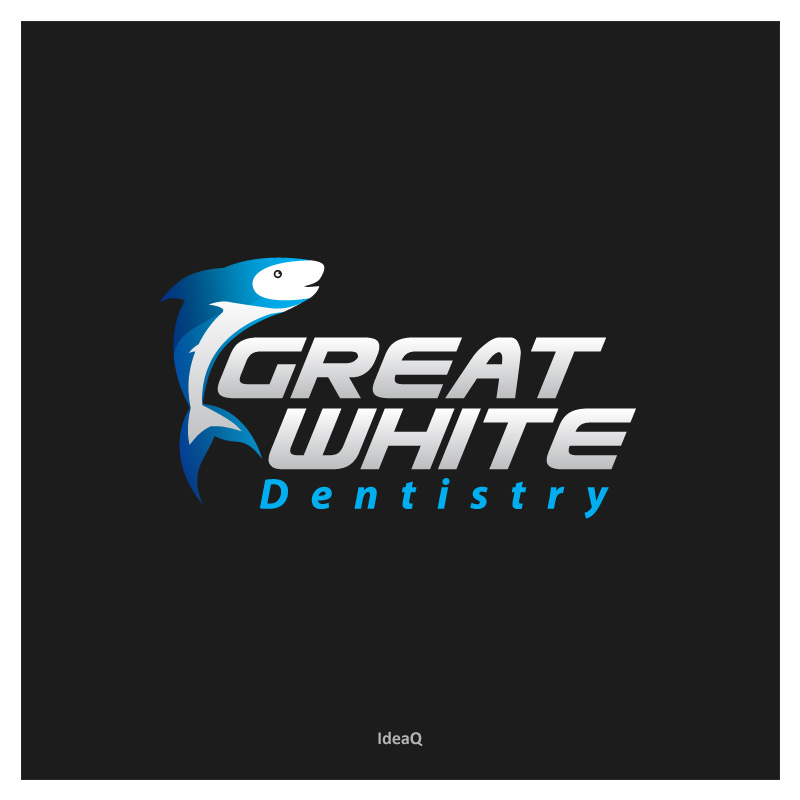 Logo Design by Private User - Entry No. 41 in the Logo Design Contest Logo Design for Great White Dentistry.