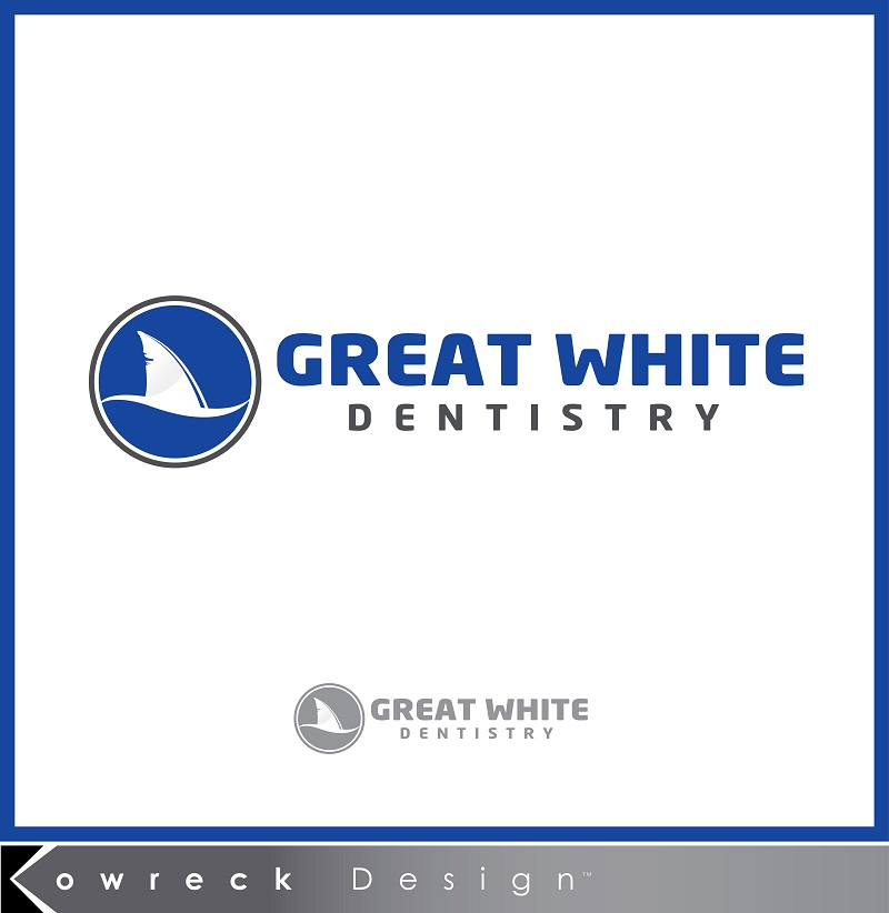 Logo Design by kowreck - Entry No. 42 in the Logo Design Contest Logo Design for Great White Dentistry.