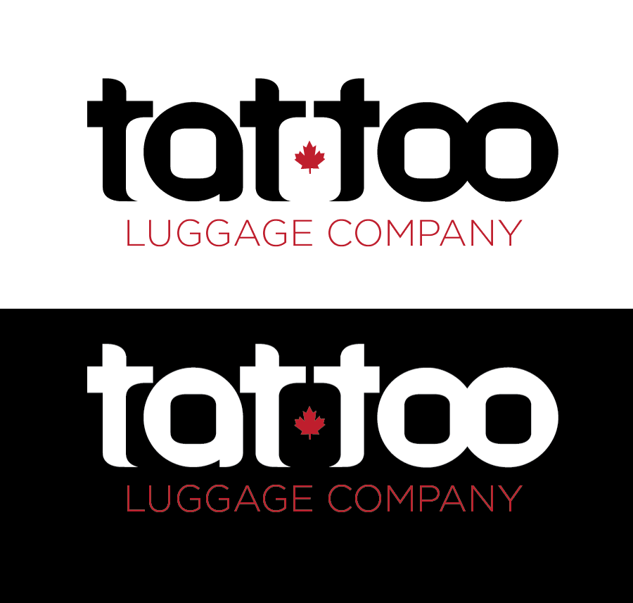 Logo Design by Christina Evans - Entry No. 87 in the Logo Design Contest Artistic Logo Design for Tattoo Luggage Company.