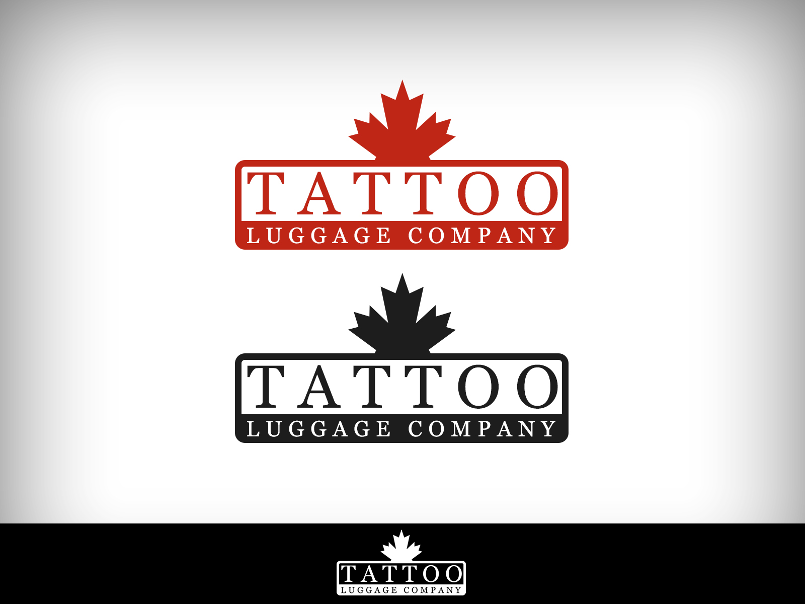 Logo Design by Virgilio Pineda III - Entry No. 89 in the Logo Design Contest Artistic Logo Design for Tattoo Luggage Company.