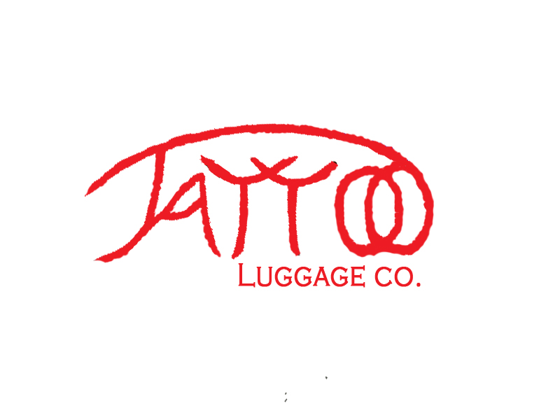 Logo Design by Yeasser Arafat - Entry No. 91 in the Logo Design Contest Artistic Logo Design for Tattoo Luggage Company.