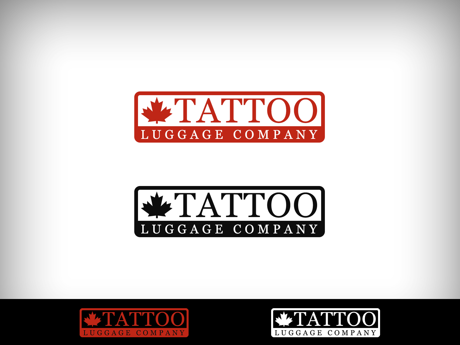 Logo Design by Virgilio Pineda III - Entry No. 94 in the Logo Design Contest Artistic Logo Design for Tattoo Luggage Company.