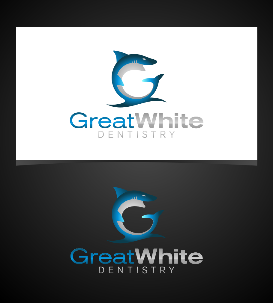 Logo Design by graphicleaf - Entry No. 44 in the Logo Design Contest Logo Design for Great White Dentistry.