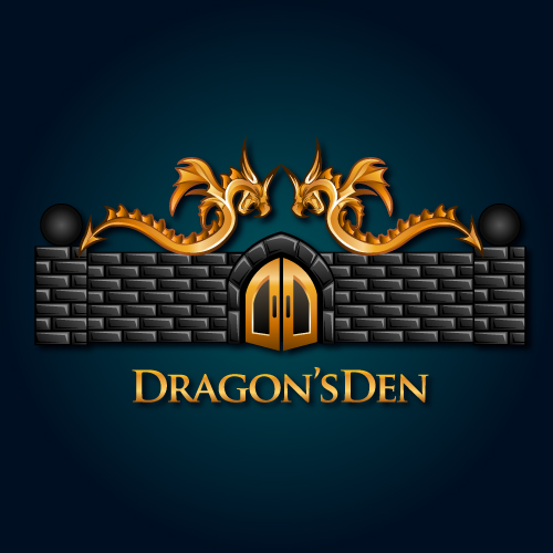 Logo Design by SilverEagle - Entry No. 119 in the Logo Design Contest The Dragons' Den needs a new logo.