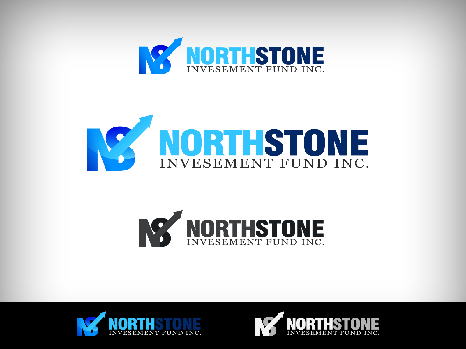 Logo Design by Virgilio Pineda III - Entry No. 205 in the Logo Design Contest Unique Logo Design Wanted for NorthStone Investment Fund Inc.