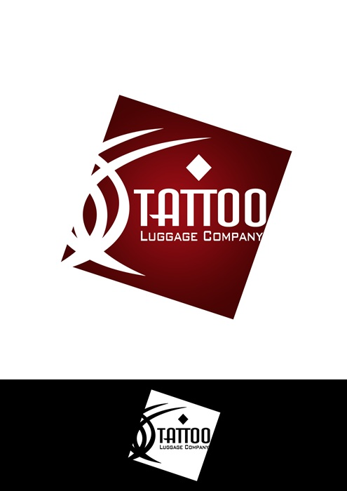 Logo Design by Respati Himawan - Entry No. 96 in the Logo Design Contest Artistic Logo Design for Tattoo Luggage Company.