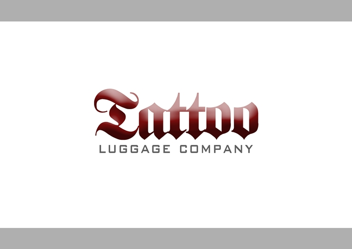 Logo Design by Respati Himawan - Entry No. 97 in the Logo Design Contest Artistic Logo Design for Tattoo Luggage Company.