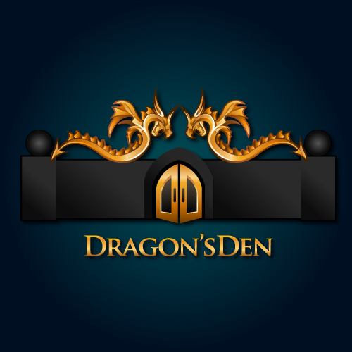 Logo Design by SilverEagle - Entry No. 121 in the Logo Design Contest The Dragons' Den needs a new logo.