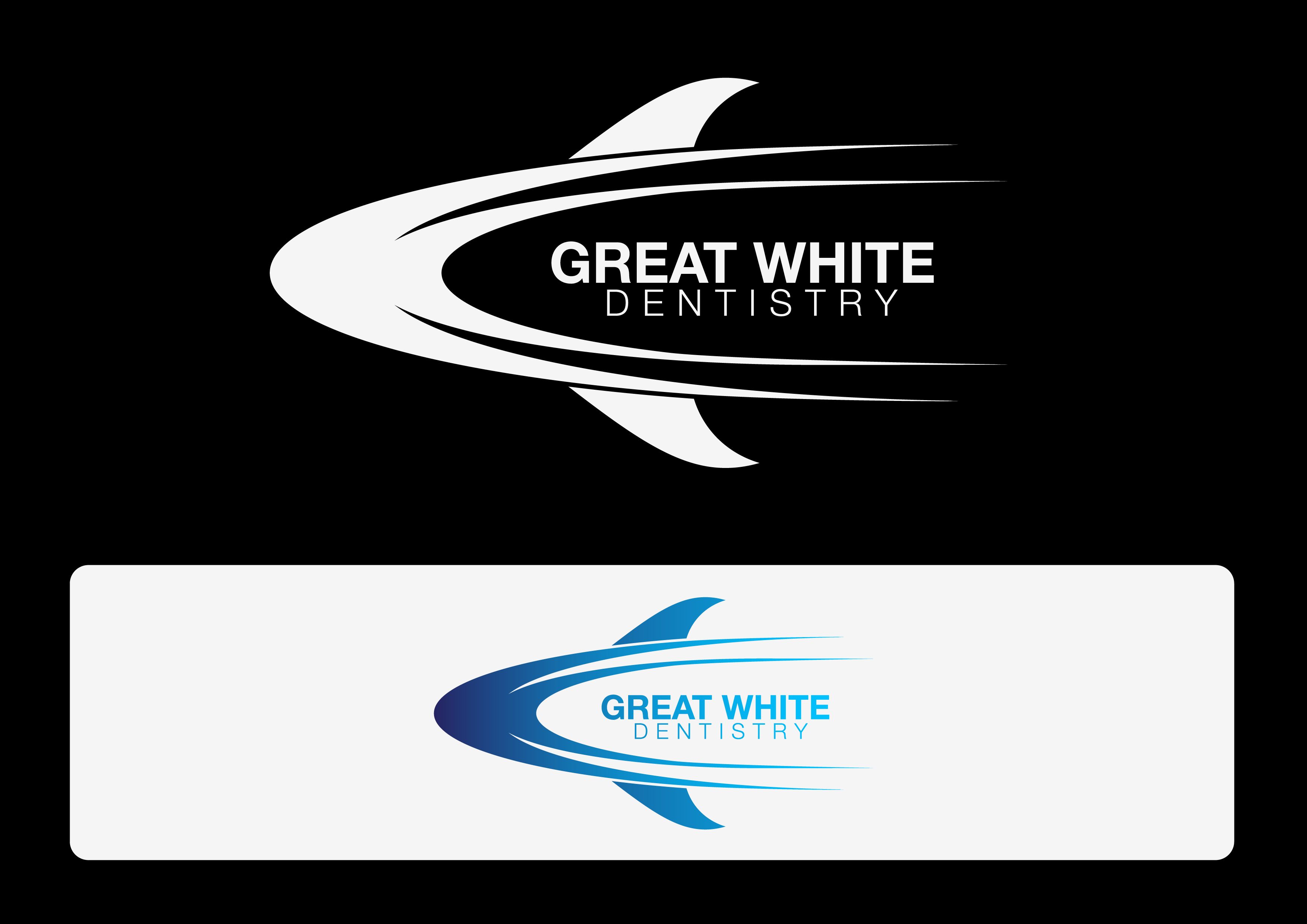 Logo Design by 3draw - Entry No. 56 in the Logo Design Contest Logo Design for Great White Dentistry.