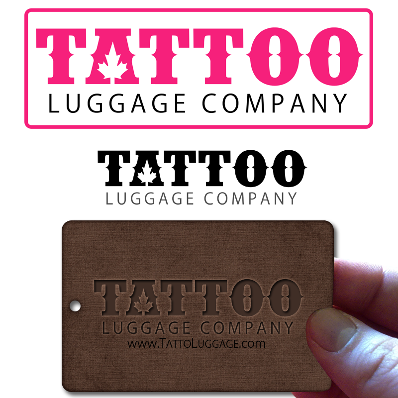 Logo Design by Private User - Entry No. 98 in the Logo Design Contest Artistic Logo Design for Tattoo Luggage Company.