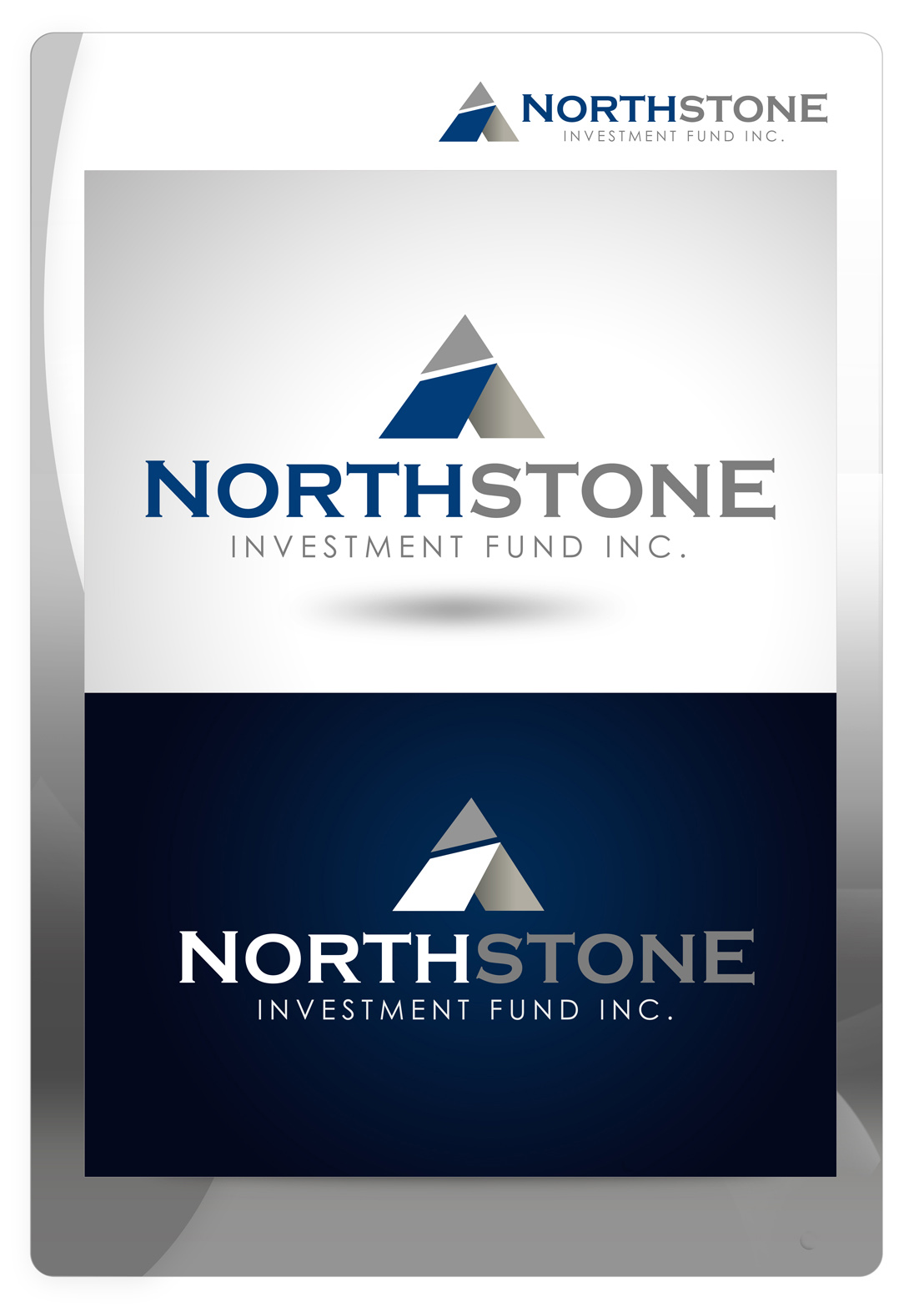 Logo Design by Mark Anthony Moreto Jordan - Entry No. 209 in the Logo Design Contest Unique Logo Design Wanted for NorthStone Investment Fund Inc.