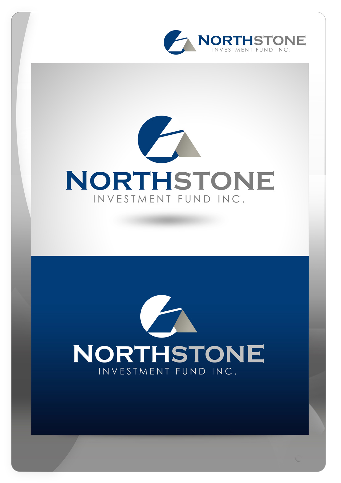 Logo Design by Mark Anthony Moreto Jordan - Entry No. 210 in the Logo Design Contest Unique Logo Design Wanted for NorthStone Investment Fund Inc.