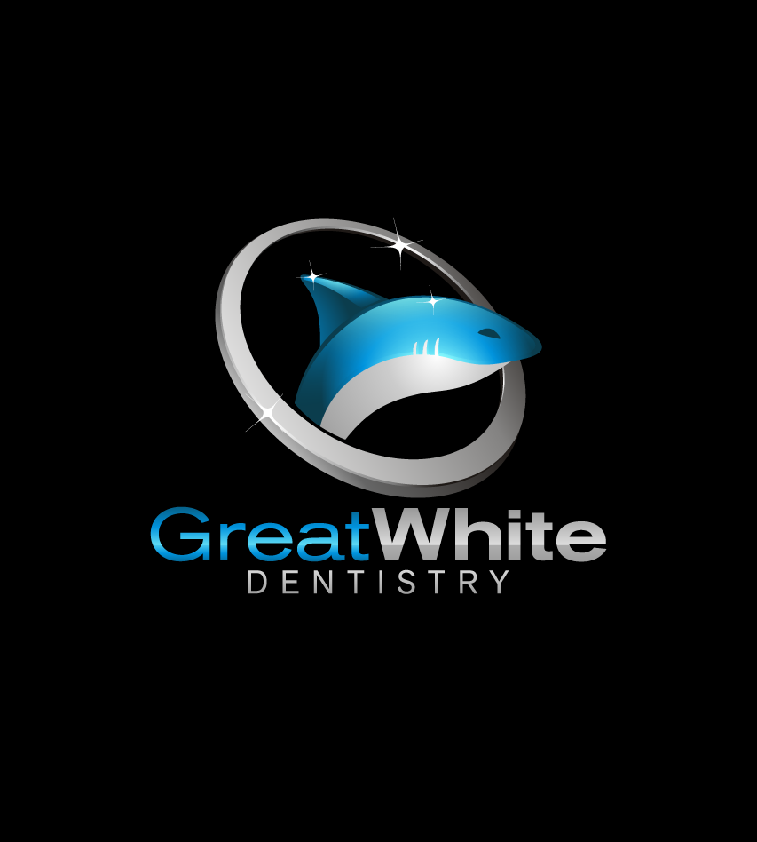 Logo Design by graphicleaf - Entry No. 61 in the Logo Design Contest Logo Design for Great White Dentistry.