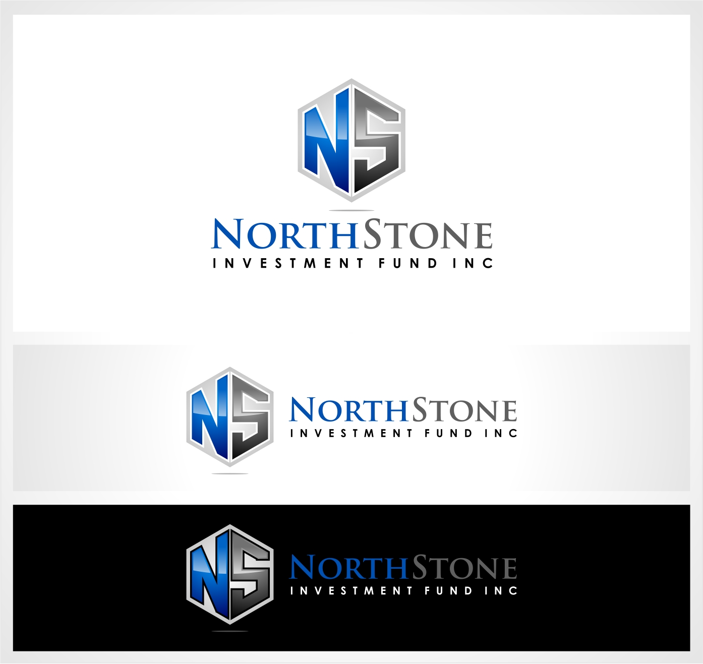 Logo Design by haidu - Entry No. 212 in the Logo Design Contest Unique Logo Design Wanted for NorthStone Investment Fund Inc.