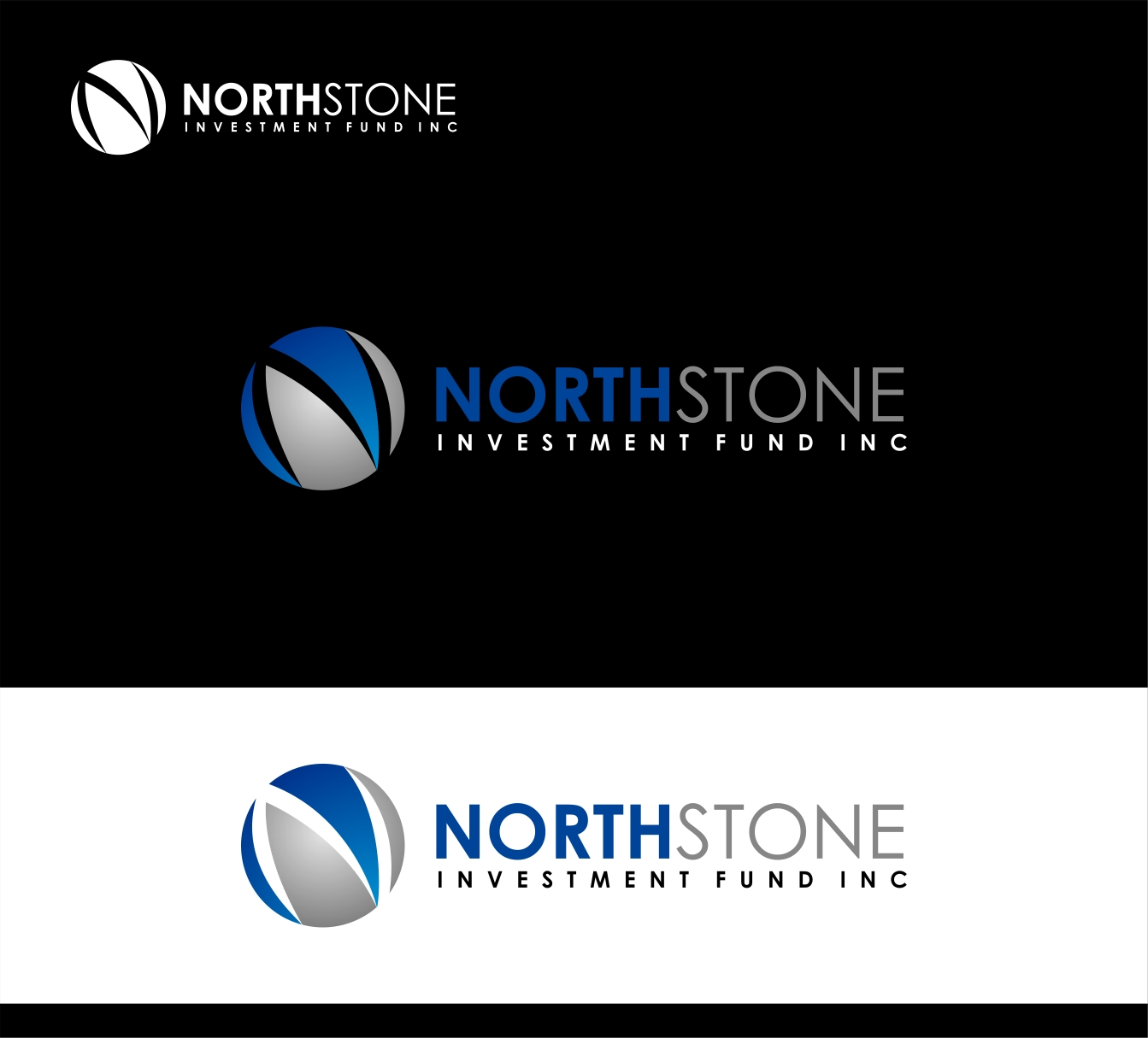 Logo Design by haidu - Entry No. 216 in the Logo Design Contest Unique Logo Design Wanted for NorthStone Investment Fund Inc.
