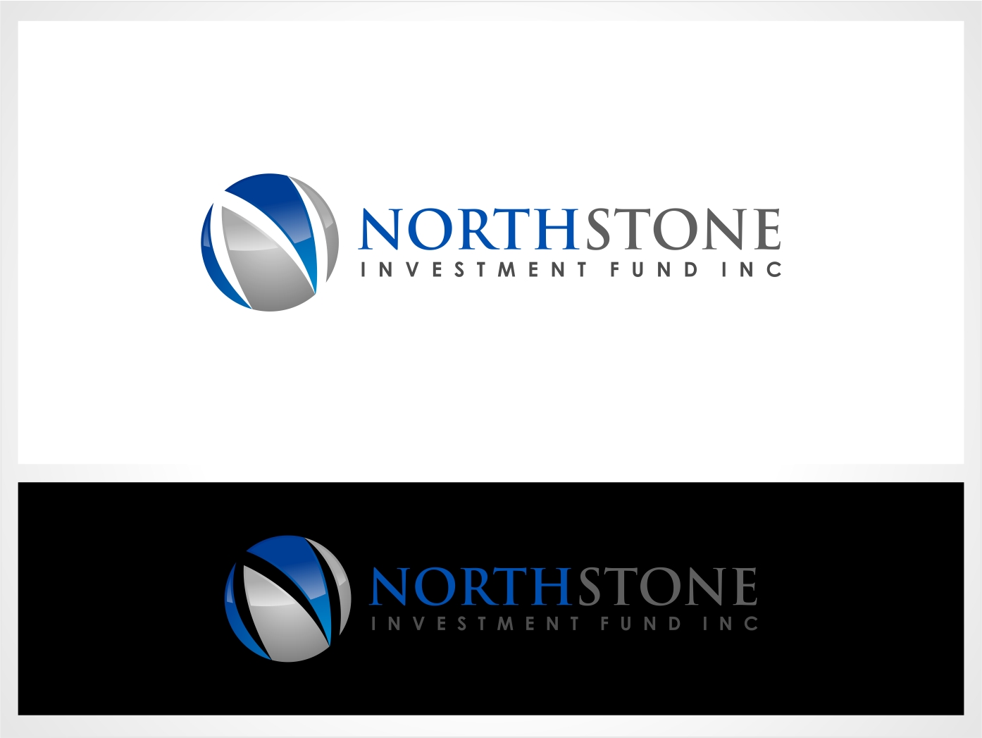 Logo Design by haidu - Entry No. 217 in the Logo Design Contest Unique Logo Design Wanted for NorthStone Investment Fund Inc.