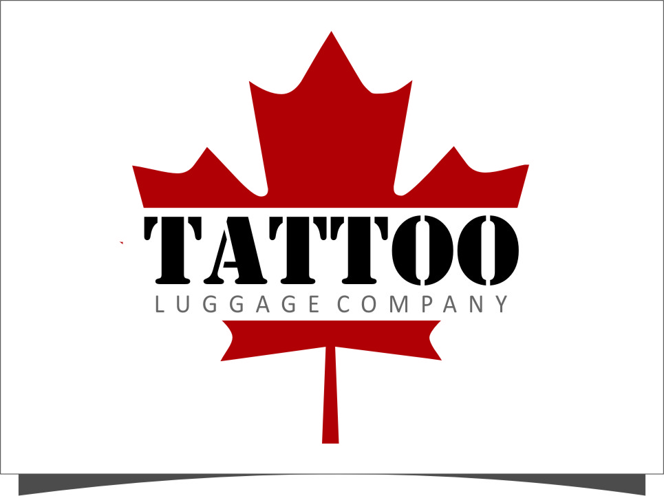 Logo Design by Ngepet_art - Entry No. 101 in the Logo Design Contest Artistic Logo Design for Tattoo Luggage Company.