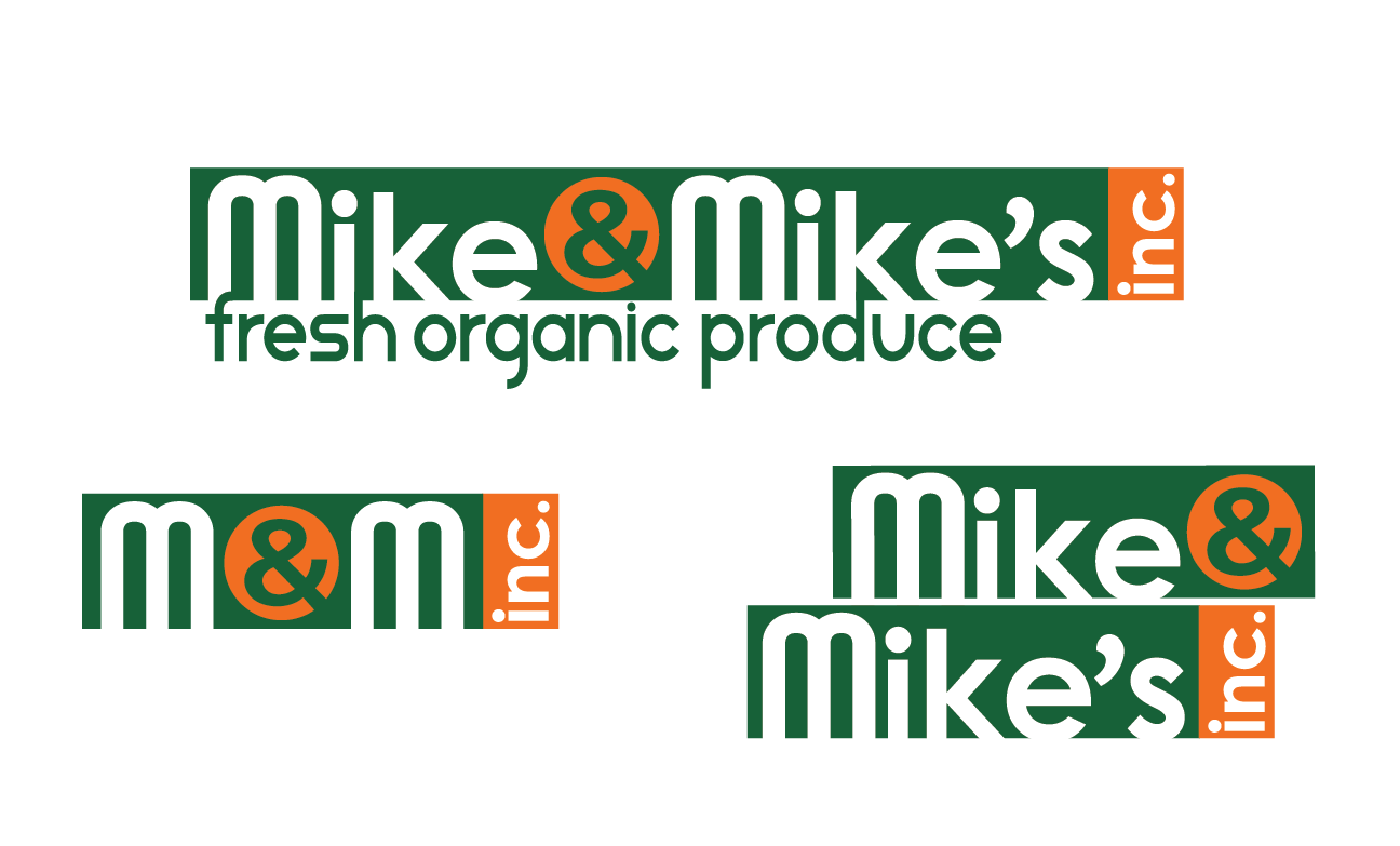 Logo Design by Christina Evans - Entry No. 10 in the Logo Design Contest Captivating Logo Design for Mike and Mike's Inc..
