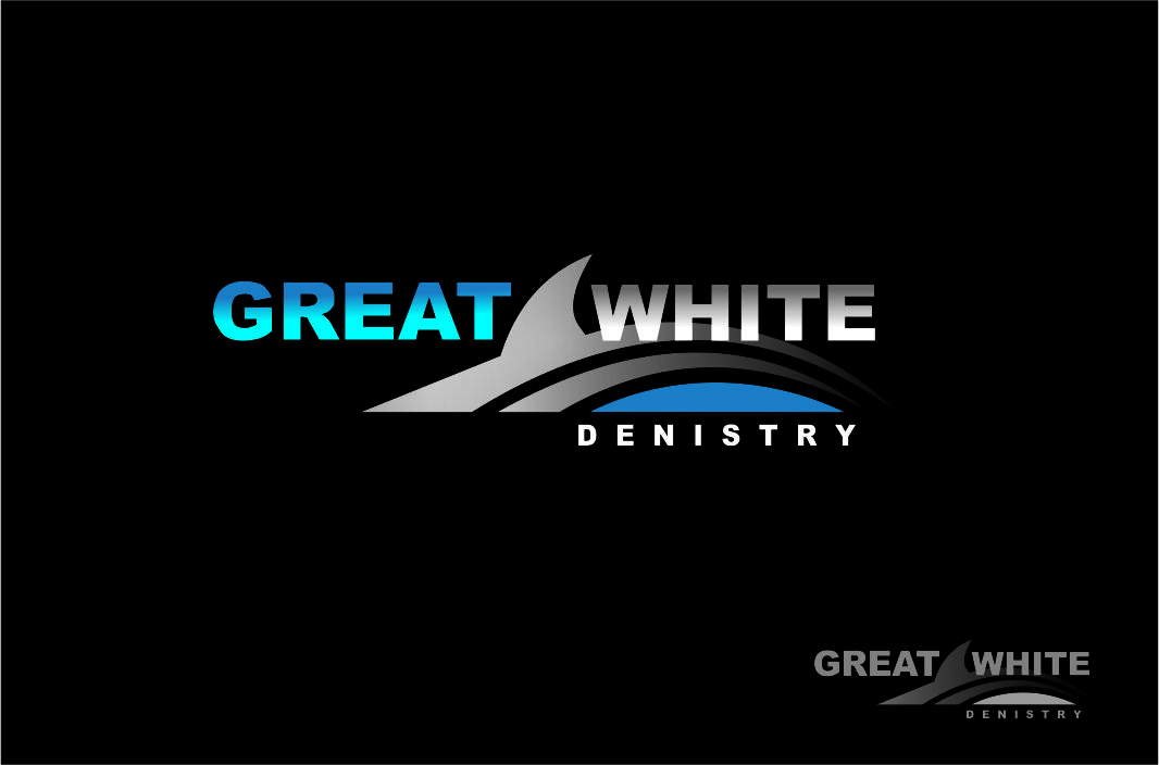 Logo Design by Agus Martoyo - Entry No. 66 in the Logo Design Contest Logo Design for Great White Dentistry.