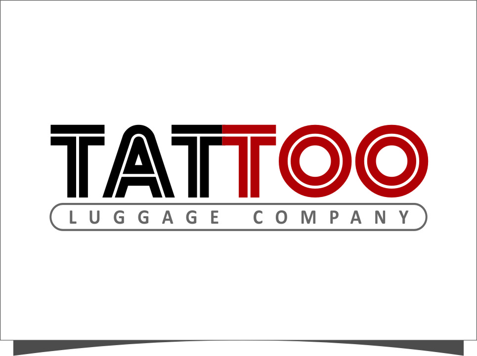Logo Design by Ngepet_art - Entry No. 102 in the Logo Design Contest Artistic Logo Design for Tattoo Luggage Company.