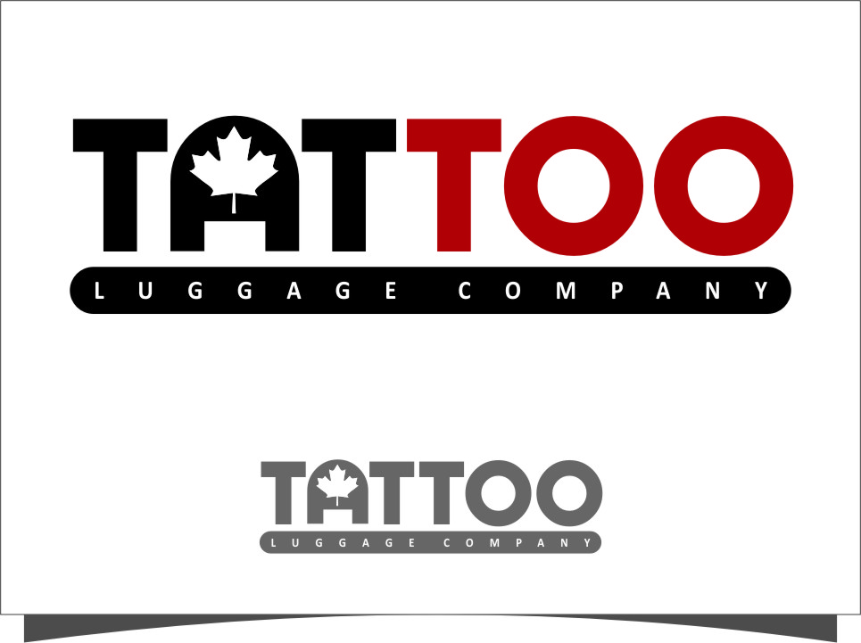 Logo Design by RasYa Muhammad Athaya - Entry No. 104 in the Logo Design Contest Artistic Logo Design for Tattoo Luggage Company.