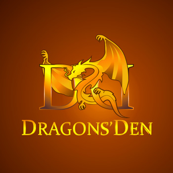 Logo Design by she_ven - Entry No. 124 in the Logo Design Contest The Dragons' Den needs a new logo.