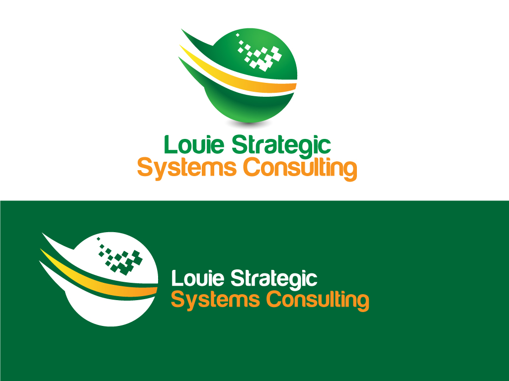 Logo Design by Jagdeep Singh - Entry No. 15 in the Logo Design Contest Artistic Logo Design for Louie Strategic Systems Consulting.