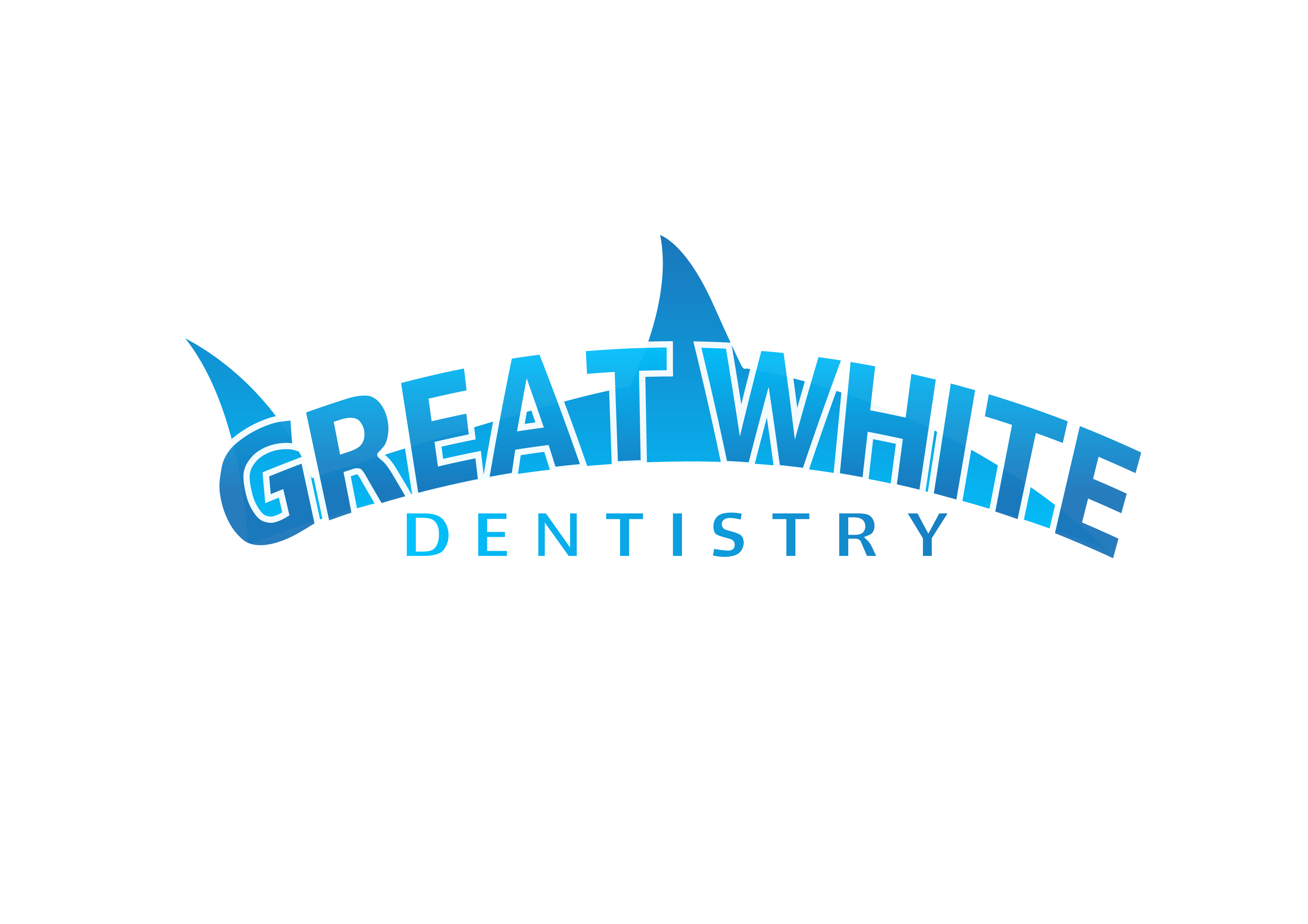 Logo Design by 3draw - Entry No. 72 in the Logo Design Contest Logo Design for Great White Dentistry.