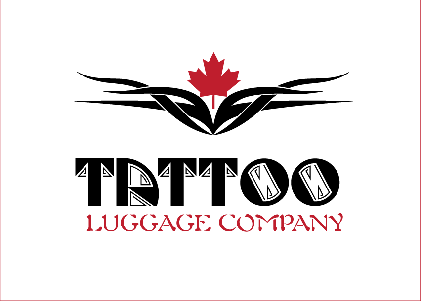 Logo Design by Sri Lata - Entry No. 107 in the Logo Design Contest Artistic Logo Design for Tattoo Luggage Company.