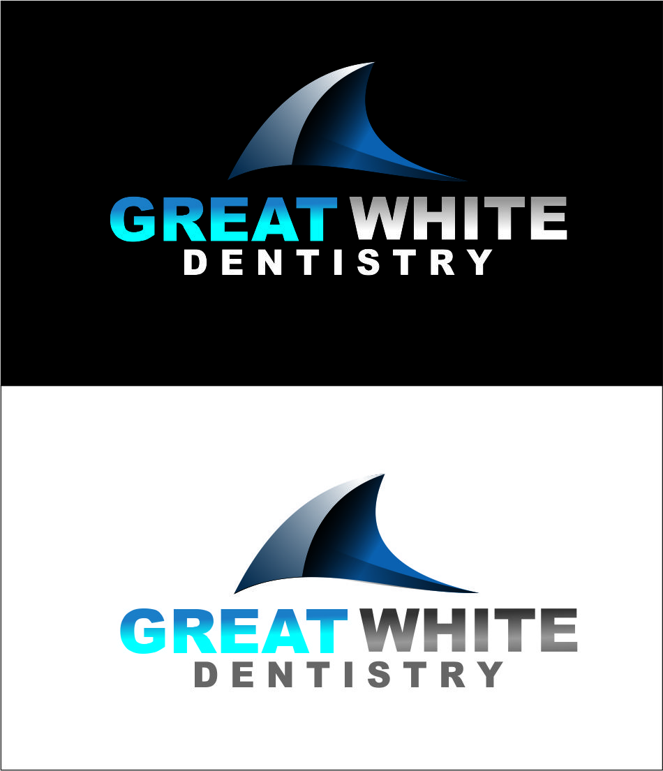 Logo Design by Agus Martoyo - Entry No. 79 in the Logo Design Contest Logo Design for Great White Dentistry.