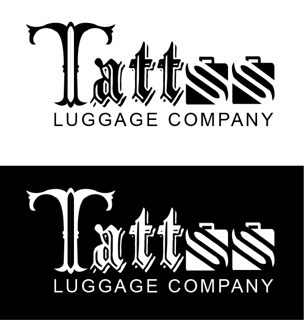 Logo Design by mediaproductionart - Entry No. 115 in the Logo Design Contest Artistic Logo Design for Tattoo Luggage Company.