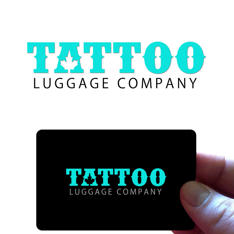 Logo Design by Private User - Entry No. 118 in the Logo Design Contest Artistic Logo Design for Tattoo Luggage Company.