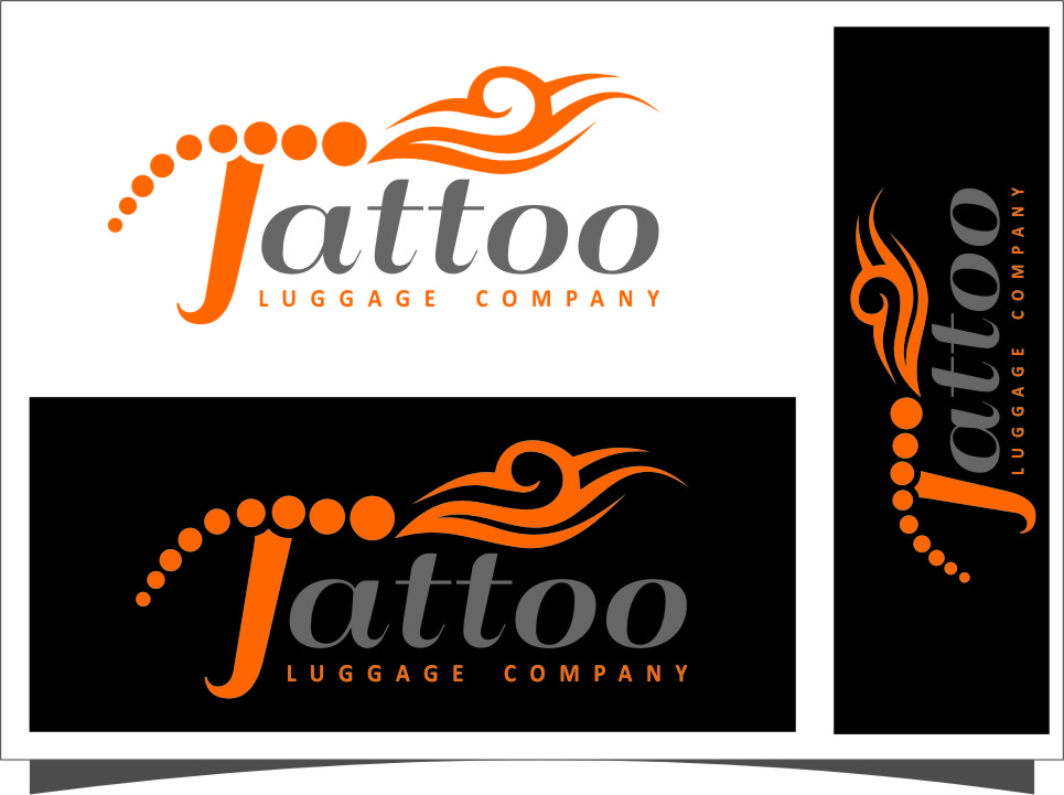 Logo Design by RasYa Muhammad Athaya - Entry No. 119 in the Logo Design Contest Artistic Logo Design for Tattoo Luggage Company.
