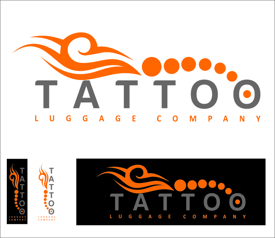 Logo Design by Ngepet_art - Entry No. 120 in the Logo Design Contest Artistic Logo Design for Tattoo Luggage Company.