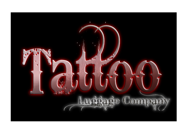 Logo Design by Kris Lemert - Entry No. 123 in the Logo Design Contest Artistic Logo Design for Tattoo Luggage Company.