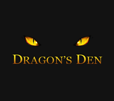 Logo Design by heezee - Entry No. 128 in the Logo Design Contest The Dragons' Den needs a new logo.