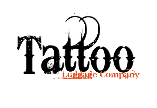 Logo Design by Kris Lemert - Entry No. 124 in the Logo Design Contest Artistic Logo Design for Tattoo Luggage Company.