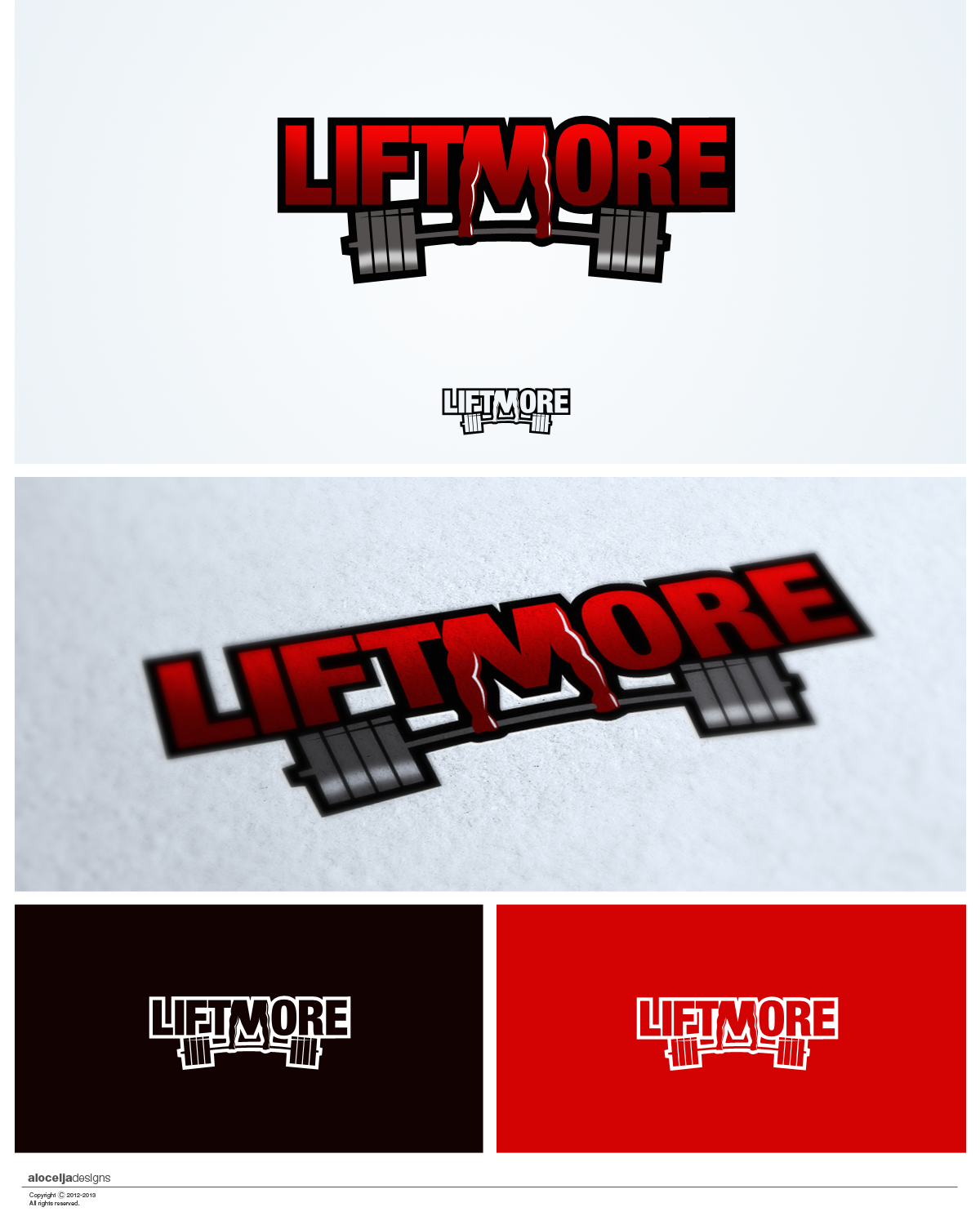 Logo Design by alocelja - Entry No. 25 in the Logo Design Contest Unique Logo Design Wanted for Liftmore.