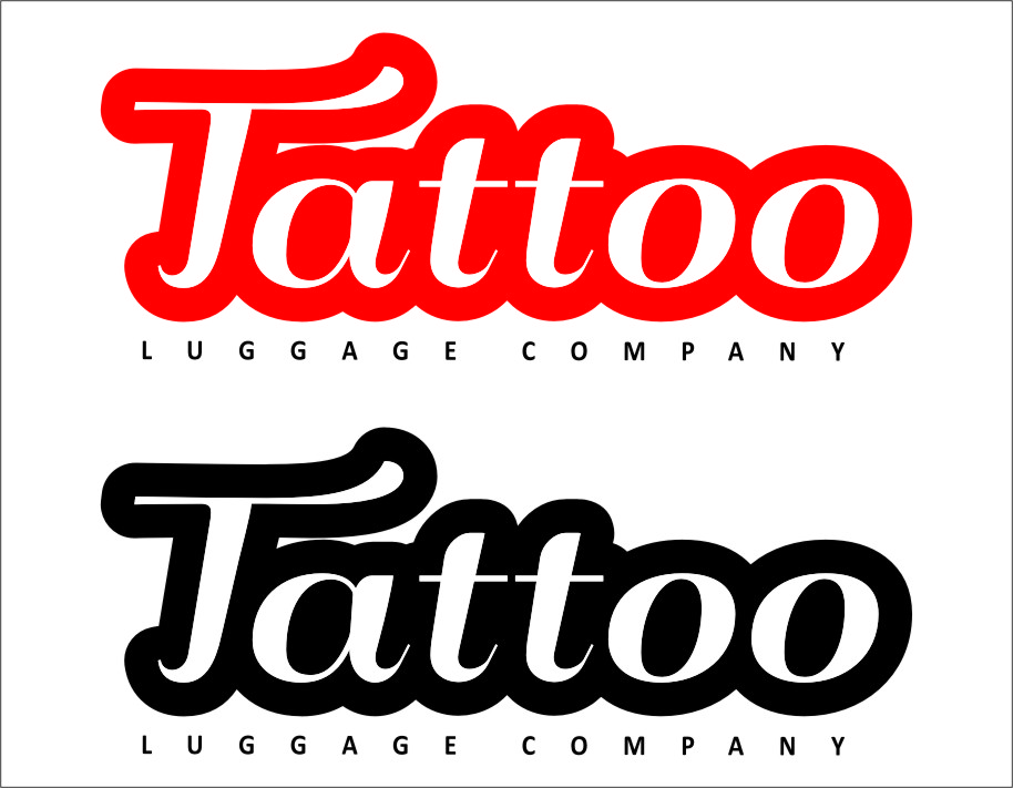 Logo Design by RasYa Muhammad Athaya - Entry No. 131 in the Logo Design Contest Artistic Logo Design for Tattoo Luggage Company.