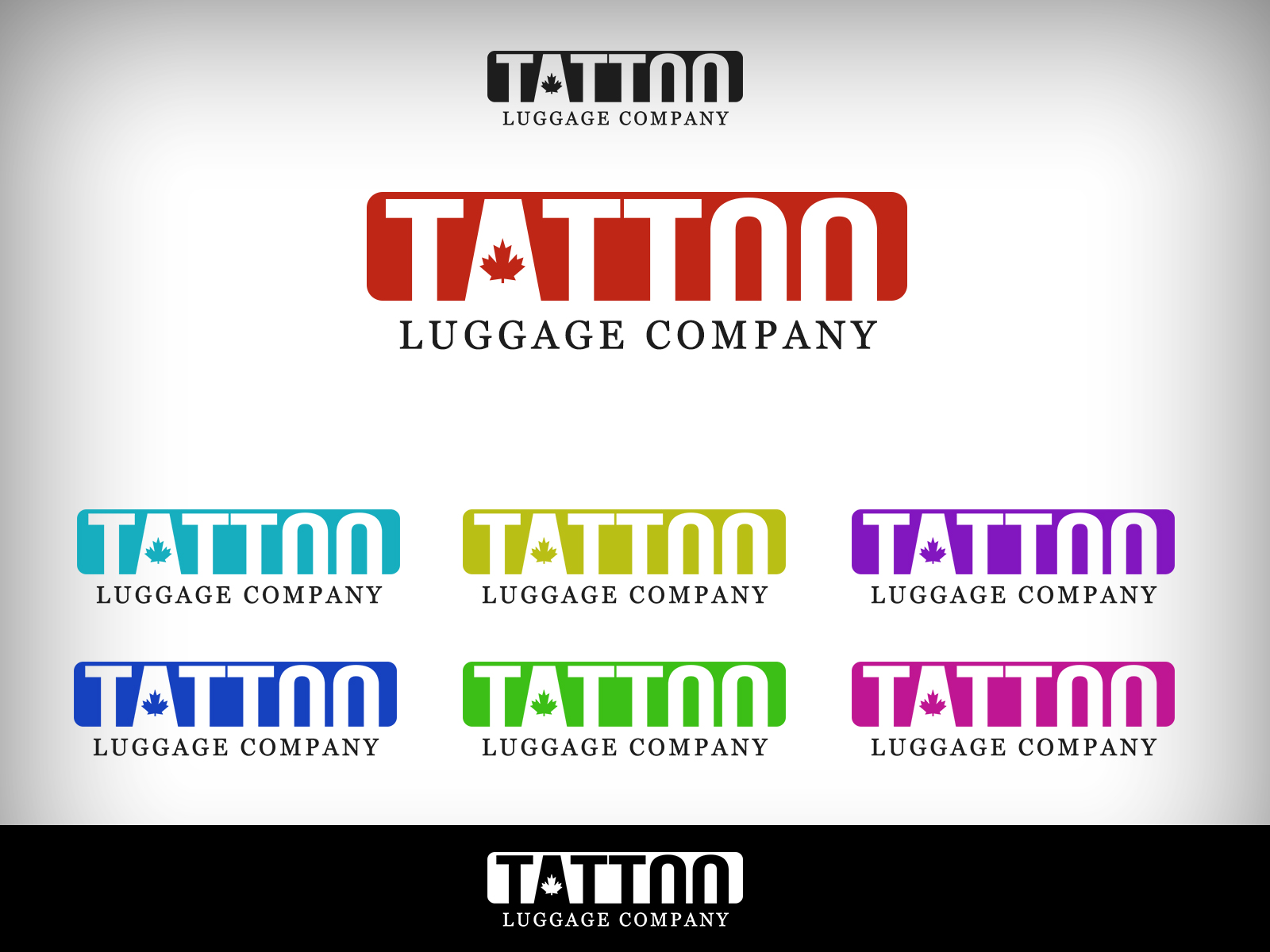 Logo Design by Virgilio Pineda III - Entry No. 132 in the Logo Design Contest Artistic Logo Design for Tattoo Luggage Company.