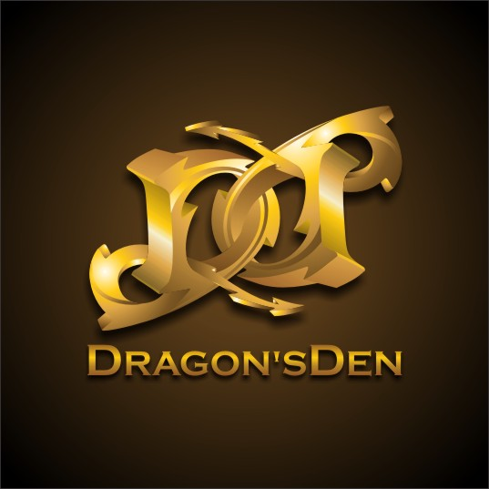 Logo Design by njleqytouch - Entry No. 130 in the Logo Design Contest The Dragons' Den needs a new logo.