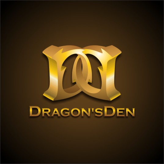 Logo Design by njleqytouch - Entry No. 131 in the Logo Design Contest The Dragons' Den needs a new logo.