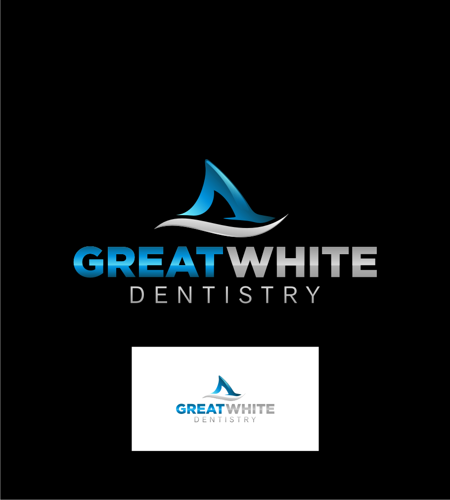 Logo Design by graphicleaf - Entry No. 85 in the Logo Design Contest Logo Design for Great White Dentistry.