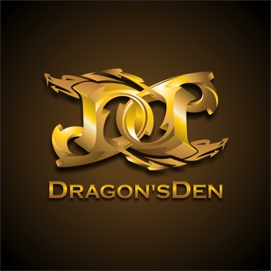 Logo Design by njleqytouch - Entry No. 132 in the Logo Design Contest The Dragons' Den needs a new logo.