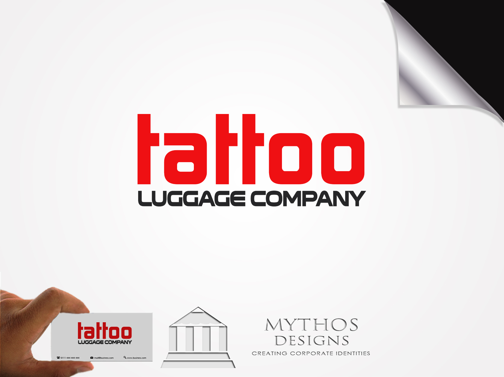 Logo Design by Mythos Designs - Entry No. 139 in the Logo Design Contest Artistic Logo Design for Tattoo Luggage Company.