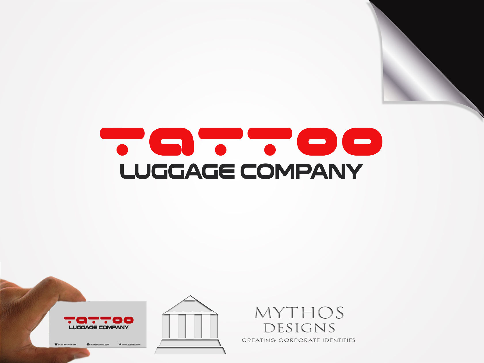 Logo Design by Mythos Designs - Entry No. 140 in the Logo Design Contest Artistic Logo Design for Tattoo Luggage Company.