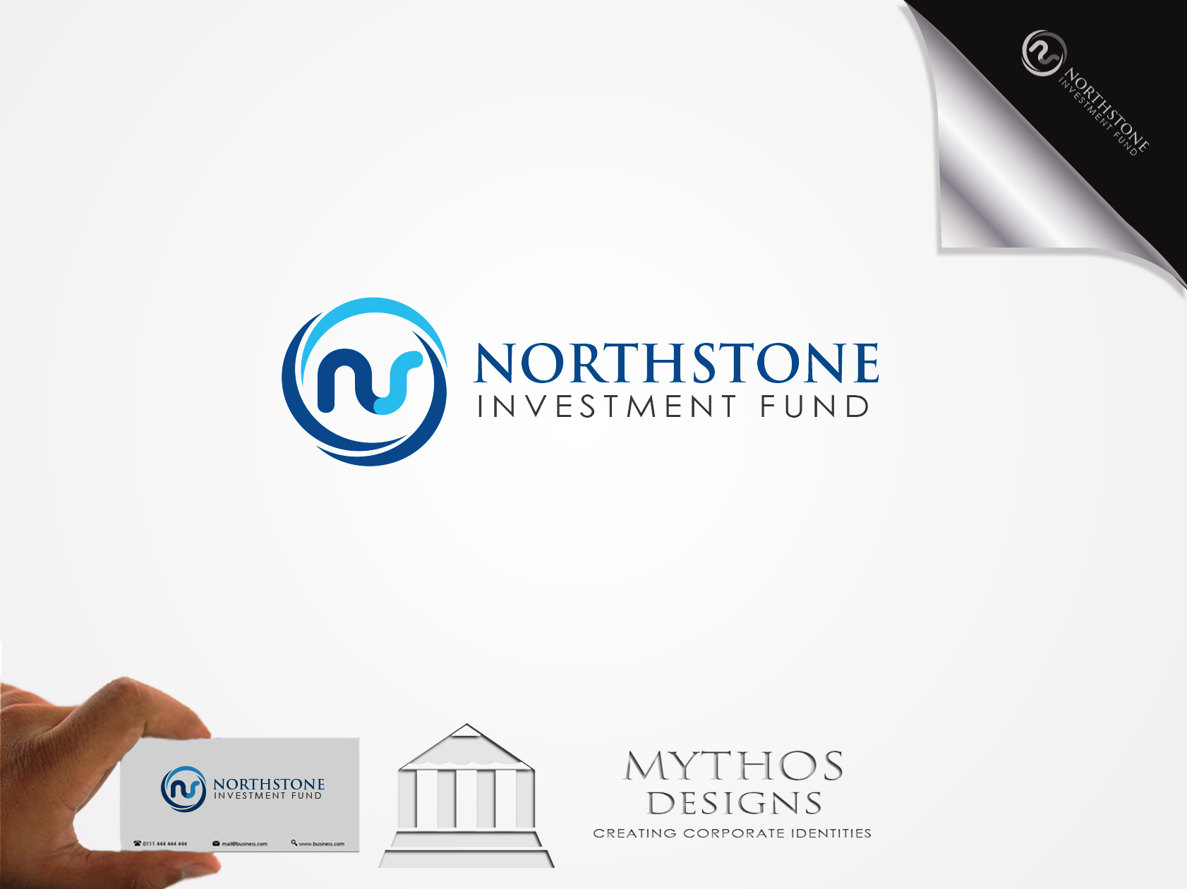 Logo Design by Mythos Designs - Entry No. 227 in the Logo Design Contest Unique Logo Design Wanted for NorthStone Investment Fund Inc.
