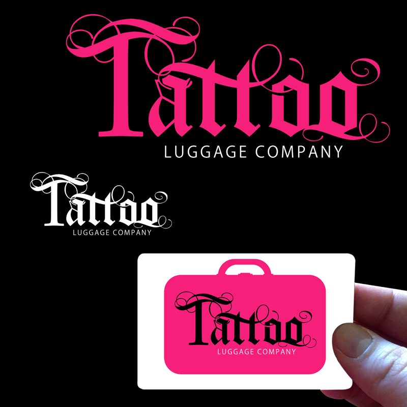 Logo Design by Private User - Entry No. 143 in the Logo Design Contest Artistic Logo Design for Tattoo Luggage Company.